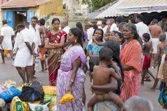 Rameswaram India, Maj, - 25, 2014 Obrazy Royalty Free