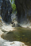 The Rametului Gorges. In Apuseni Mountains, Romania Royalty Free Stock Photos