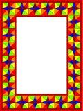 ramexponeringsglasmosaik royaltyfri illustrationer
