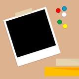 ramfoto vektor illustrationer