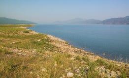 Ramganga flod i dikala Royaltyfri Bild