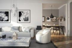 Ramgestaltung: Διαμέρισμα ελεύθερη απεικόνιση δικαιώματος