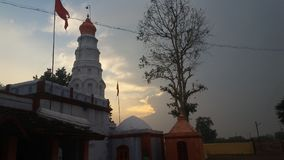 Ramgir temple on india. Temple maharashtra india Royalty Free Stock Photography