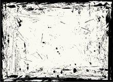 ramgrungetextur royaltyfri illustrationer