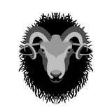 Ramhauptvektor-Illustrationsart flach Lizenzfreie Stockbilder