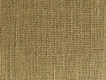 Ramie natural fiber pale brown textlie texture Stock Image