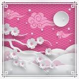 Ramificación de los flores de cereza Fotografía de archivo libre de regalías