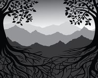 Ramificaciones y raíces libre illustration