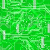Ramificar para fora fundo mostra a matriz e a conexão de informação Imagem de Stock