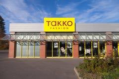 Ramifique de tiendas de la moda de TAKKO Fotografía de archivo libre de regalías