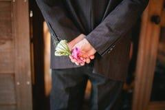 Ramillete para una boda fotografía de archivo