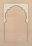 ramillustrationbild Arkivbild