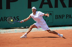 Ramirez HIDALGO (ESP) at Roland Garros 2010 Stock Images