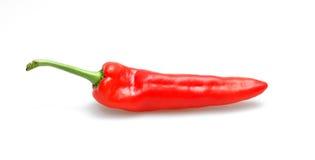 Ramiro pepper. Sweet Red Ramiro pepper on white surface Royalty Free Stock Photos