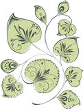 Ramita decorativa Imagen de archivo libre de regalías