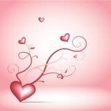 Ramitas románticas Imágenes de archivo libres de regalías