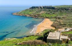 Ramla Bay - Gozo, Malta Royalty Free Stock Photography