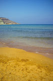 Ramla Bay , Gozo stock photo