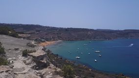 Ramla bay Malta royalty free stock image