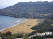 Ramla-Bucht in Gozo (Malta) Stockfoto