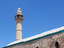 Ramla minaret of Great Mosque 2007. Minaret of Great Mosque in Ramla, Israel royalty free stock photography