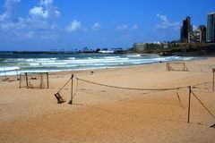 Ramlet al-Baida Beach,Beirut,Lebanon Stock Photo