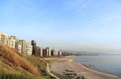 Ramlet El Baida Beach, Lebanon Royalty Free Stock Images