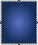 Rammörker - blå abstrakt Batik Indonesien Arkivfoto