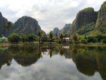 Rammang - rammang 库存照片