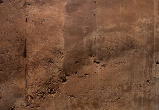Rammed earth. Involves a process of compressing a damp mixture of earth that has suitable proportions of sand, gravel and clay (sometimes with an added Royalty Free Stock Photos