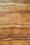 Rammed earth wall material texture. Background Royalty Free Stock Photo