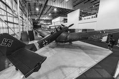 Rammelkasten JU 87 Stuka Stock Foto's