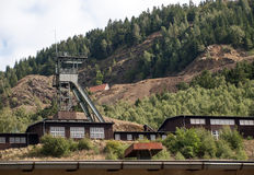 Rammelsberg ore mines in Germany Stock Photography