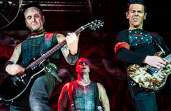 Rammstein concert Stock Photography