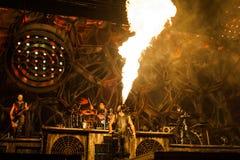 Rammstein concert Royalty Free Stock Photos