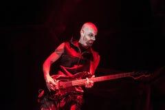 Rammstein konsert Royaltyfri Bild
