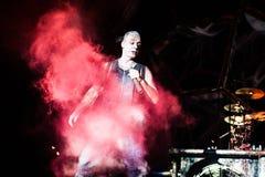 Rammstein konsert Fotografering för Bildbyråer