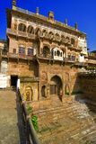 Ramnagar Fort. The entrance of the ancient Ramnagar Fort in Varanasi, India Stock Photo