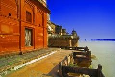 Ramnagar Fort in Indien Stockfotos