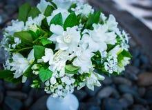 Ramo abstracto de flores Fotos de archivo libres de regalías