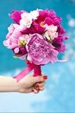 Ramo agradable de la flor del resorte Fotos de archivo libres de regalías