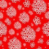 Ramo blanco de fondo rojo Foto de archivo libre de regalías
