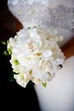 Ramo blanco de la boda Imagenes de archivo