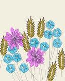Ramo clásico de la flor Imagenes de archivo