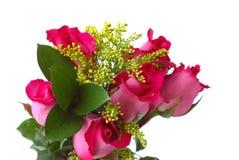 ramo color de rosa Fotos de archivo libres de regalías