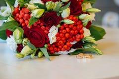 Ramo colorido de la boda hermosa para la novia Imagen de archivo