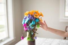 Ramo colorido de la flor Fotos de archivo libres de regalías