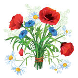 Ramo colorido de la flor Fotografía de archivo