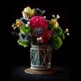 Ramo colorido de las flores Imagen de archivo