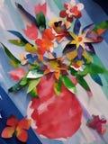 Ramo colorido hermoso de imagen de las flores ilustración del vector